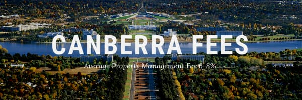 Property Management Fees Canberra
