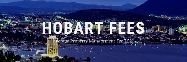 Property Management Fees Hobart