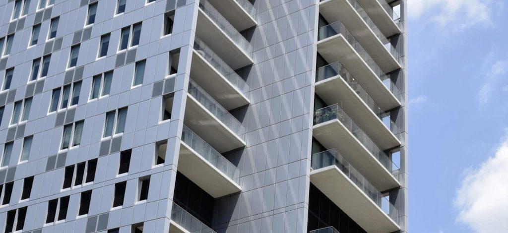 Sydney new apartment building