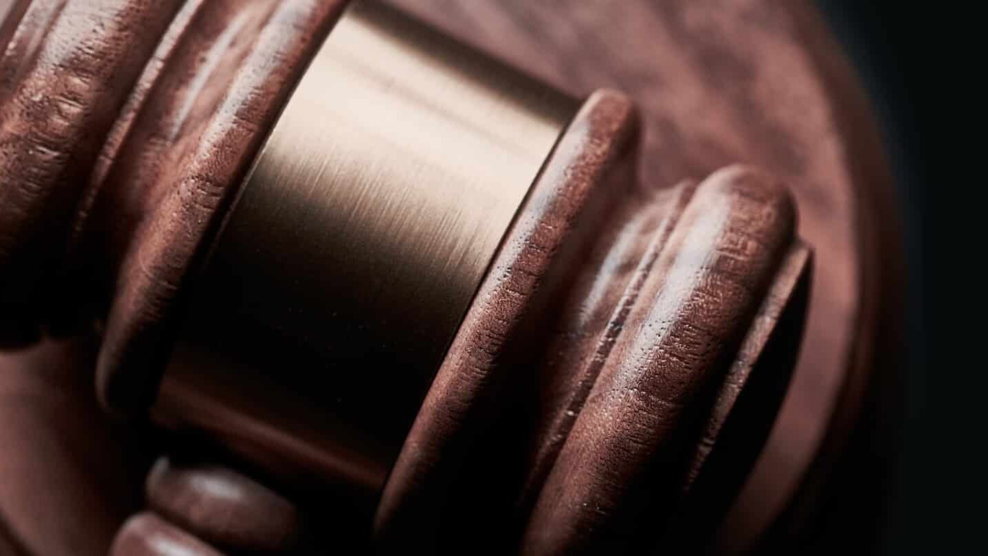 Auction gavel for online auctions